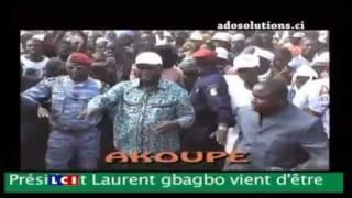 GBAGBO - ADO (CÔTE D'IVOIRE SI VICTOIRE IL YA C'EST LA VICTOIRE DU MAL SUR LE BIEN)