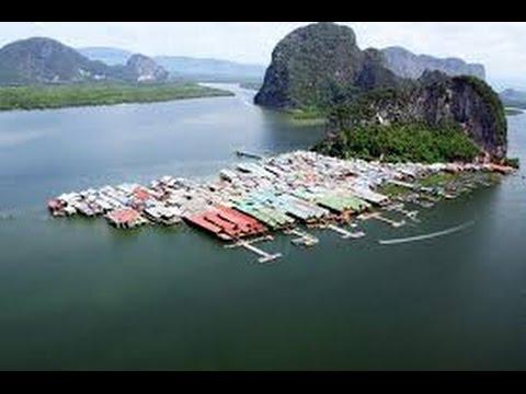 Koh Panyee Island Gypsy Fisherman Village Phang Nga Bay Thailand