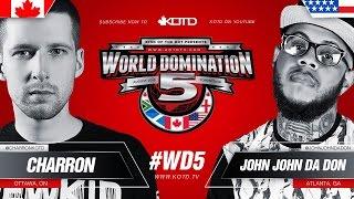 Charron vs John John Da Don