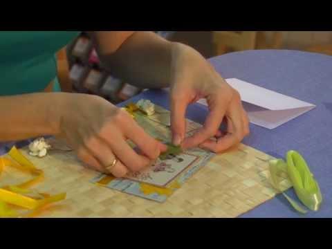 видео: Поздравительная открытка своими руками