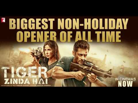 Tiger Zinda Hai Box office Collection  Three days collection  Biggest Non holiday opener