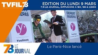 7/8 Le journal – Edition du lundi 9 mars 2015