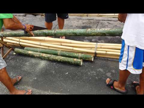 How To Split Bamboo Pole