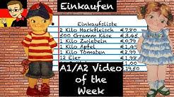 German for Beginners #4: Shopping