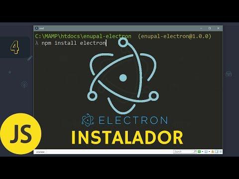 #4 Electron - Como Crear Instalador Para Windows, Linux Y Mac  - 2017