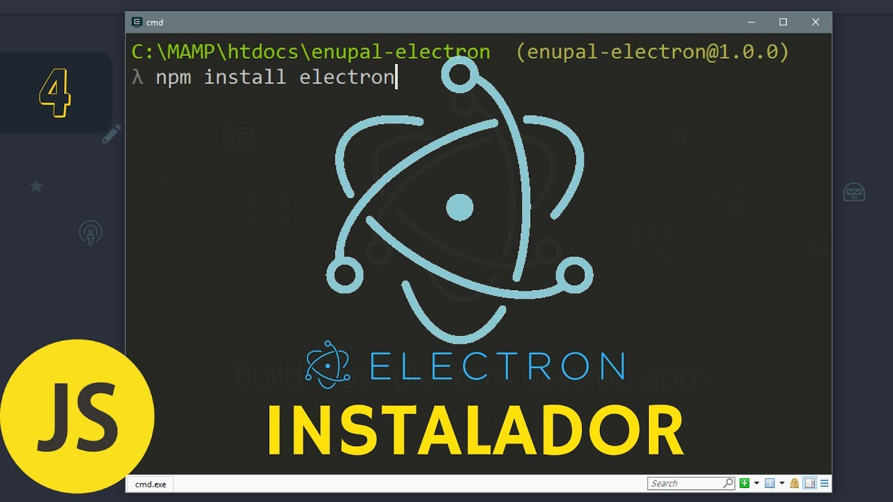 How to create a cross-platform installer with Electron for