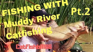FISHING WITH MUDDY RIVER CATFISHING PART PT#2 IN NEW MEXICO