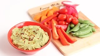 Homemade Avocado Hummus Recipe - Laura Vitale - Laura In The Kitchen Episode 802