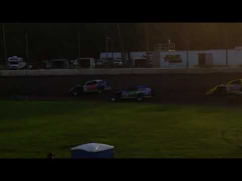 One lap around KRA Speedway in Willmar MN