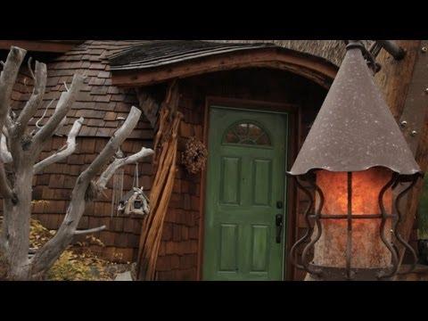 Hobbit inspired shire home youtube for Hobbit inspired house