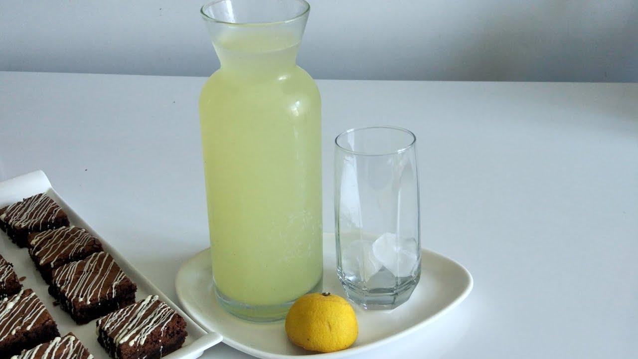 🍹10 Dakikada 2 limon ile  Buz Gibi PASTANE  Limonatası Yapin , 👉 HEMEN FERAHLAYIN🤤