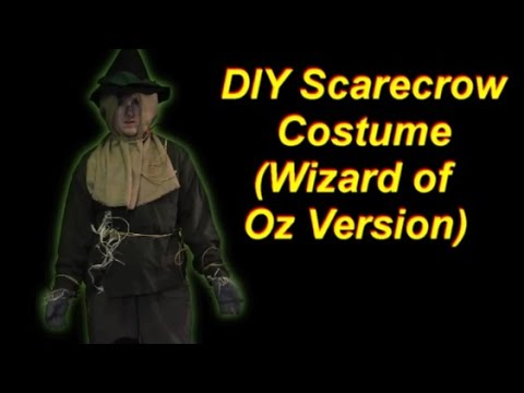 How to Make a Wizard of Oz Scarecrow Costume - YouTube