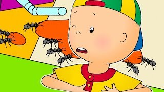 Funny Animated cartoons Kids | 🐜 Caillou and ANT ATTACK! 🐜 | WATCH ONLINE | Cartoons for Children