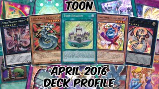 Toon Deck Profile - APRIL 2016 - RETURN OF THE TOONS!