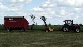 Hitching Up The Forage Harvester