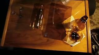 видео Дорожки и бордюр из стеклянных бутылок
