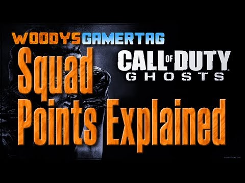 How Squad Points Work In Call Of Duty Ghosts