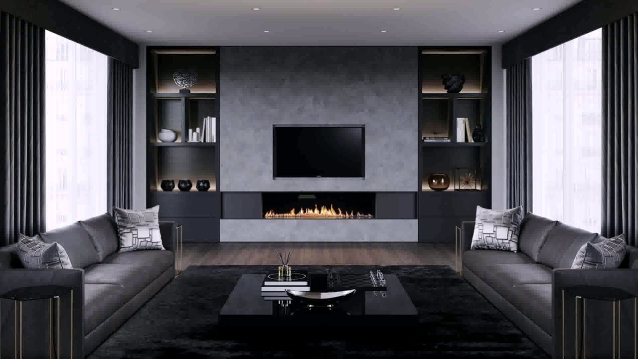 Living Room Designs With Chimney Breast Youtube