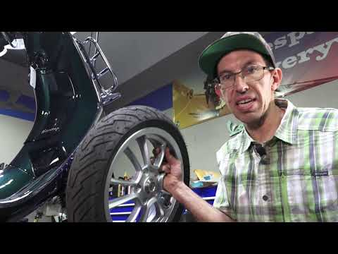 How To Change Tires & Brakes On Your Modern Vespa Sprint Or Primavera