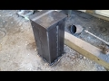 My Anvil Stand Video (Quiet down a RR Track Anvil) Easy to Build.
