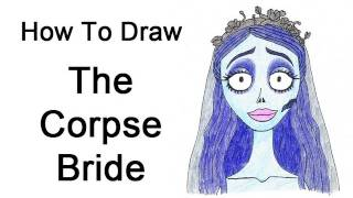 How to Draw Emily (Corpse Bride)