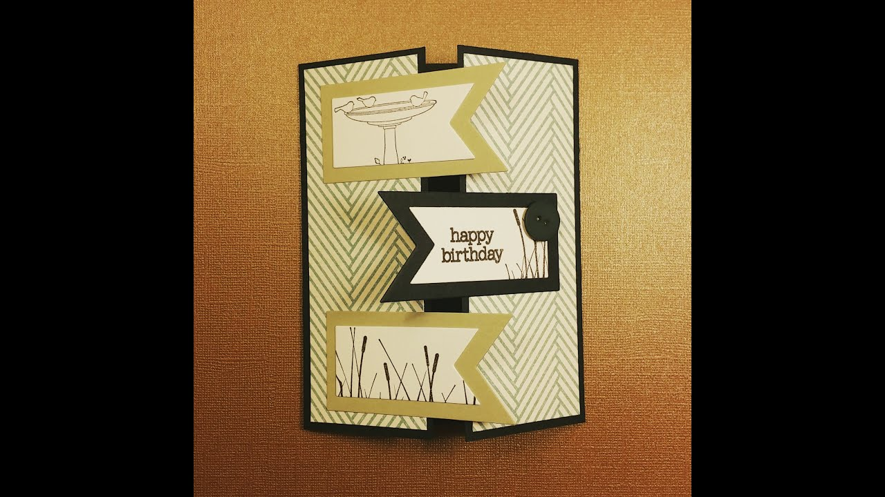 Card Inspiration Male Birthday Card Stampin Up Framelits – Male Birthday Cards