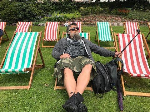 Kilt Giydim, Edinburgh'u gezdim. Çok Zor Oldu Çook        / travel vlog youtuber scotland trip guide