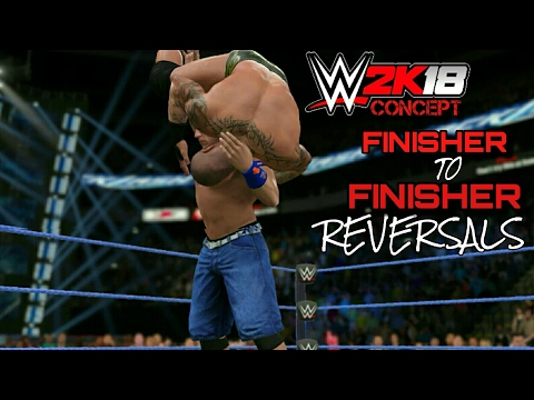 WWE 2K18 Finisher To Finisher Reversals! | WWE 2K18 (CONCEPT)