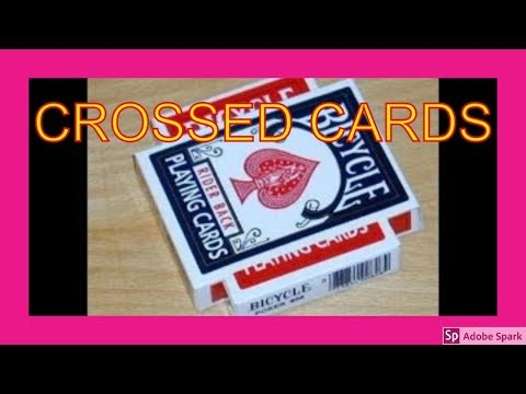 ONLINE MAGIC TRICKS TAMIL I ONLINE TAMIL MAGIC #153 I CROSSED CARDS