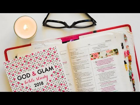 The Paper & Glam Bible Study 2018!