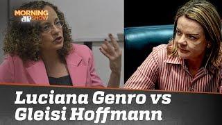 Luciana Genro vs Gleisi Hoffmann: posse de Maduro gera discórdia na esquerda
