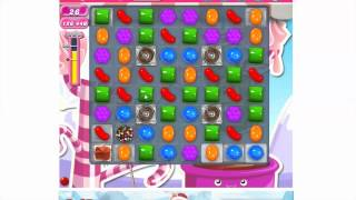 How to play Candy Crush Saga Level 486 - 3 stars - No booster