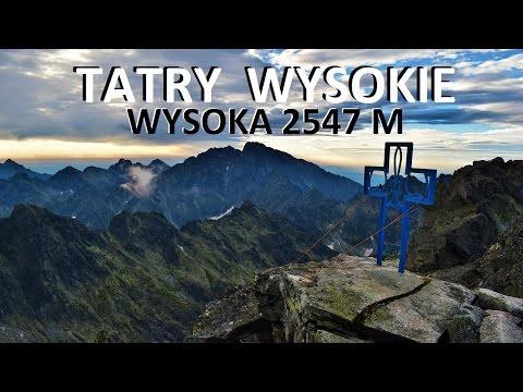 TATRY WYSOKIE - Wysoka 2547 M 22.07.2016