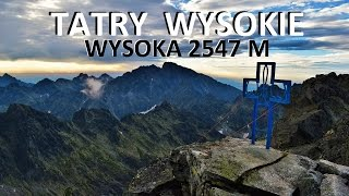 TATRY WYSOKIE - Wysoka 2547 M 22072016