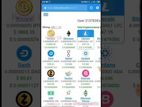 Cara Mining Bitcoin Gratis Di #eobot Menggunakan Vps