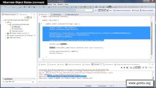 Hibernate Tutorial part 15 - Hibernate Object States 01 (Transient, Persistent and Detached States)