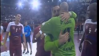 Polska-Katar-29-31-Oklaski Polaków dla sędziów po meczu