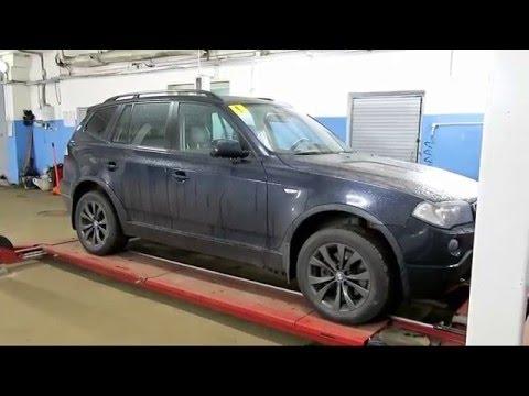 Продолжение осмотра BMW X3 E83 20d 2008