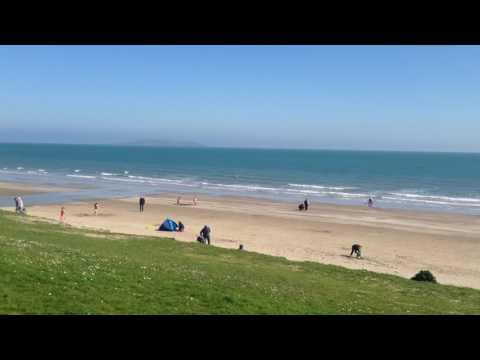 Portmarnock Beach, Dublin, Ireland
