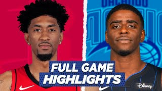 ROCKETS at MAGIC FULL GAME HIGHLIGHTS | 2021 NBA SEASON