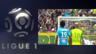 Nantes 0 vs 1 Marseille - Highlights & Goals -  Ligue1 #GW1 - 12 Agustus 2017