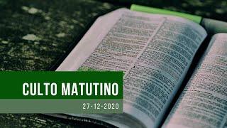 Culto - 27/12/2020