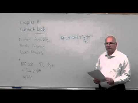 Lesson 8 - Current Liabilities