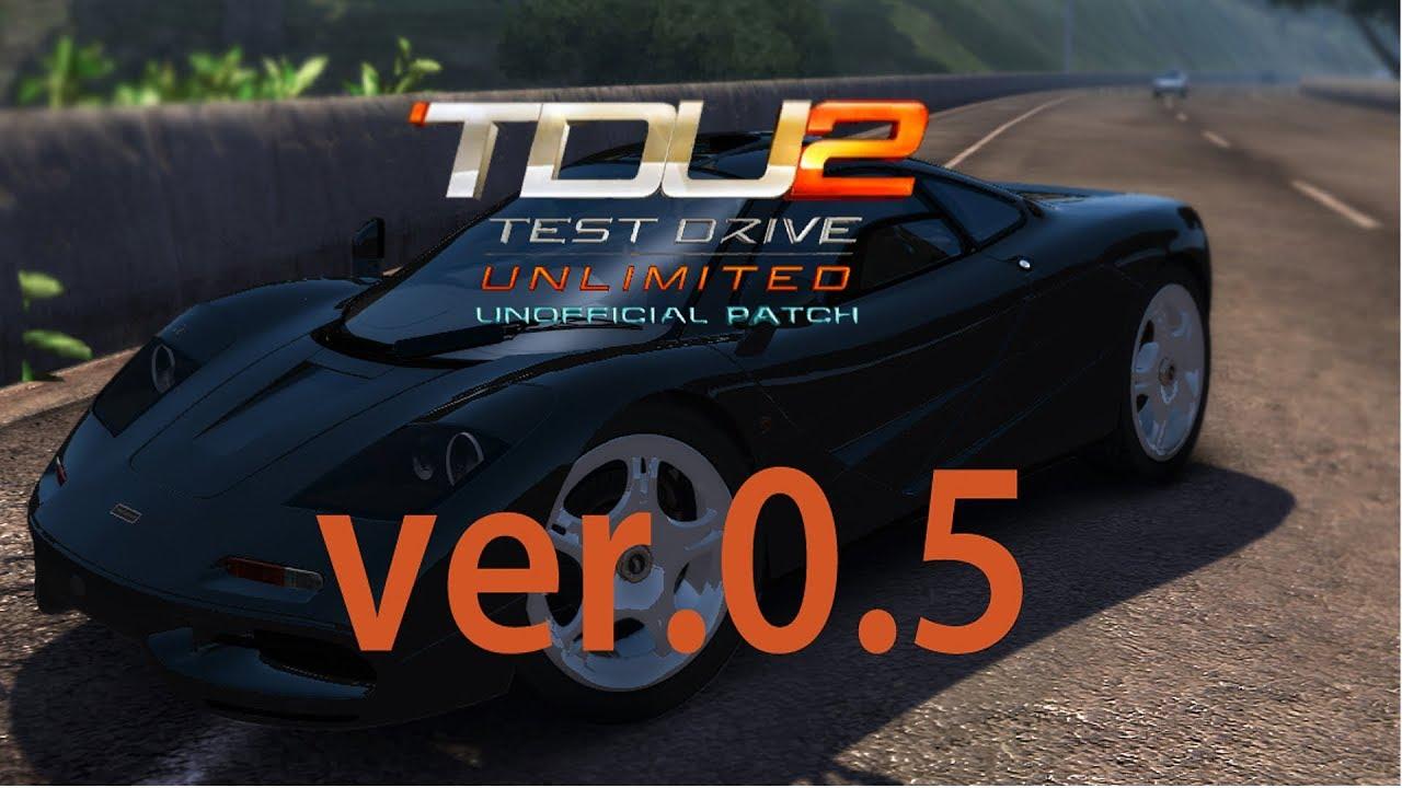 tdu2 patch download