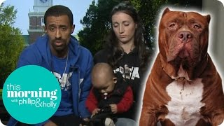 Would You Trust A 12-Stone Dog Around Your Baby? | This Morning
