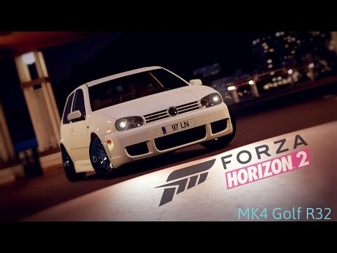 Forza Horizon 2 - 2003 VW Golf R32 MK4 - Stance Showcase