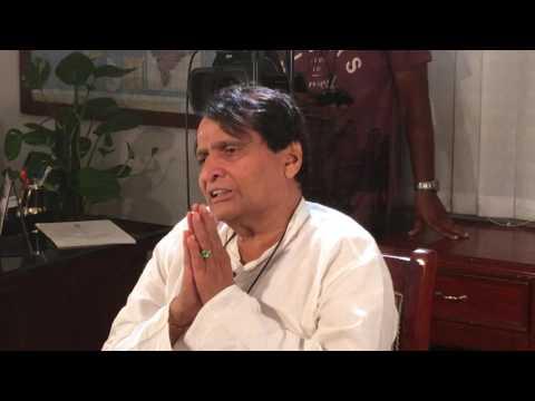MR Suresh Prabhu Interview on Indian Railway 3 Year Report on Lokmat