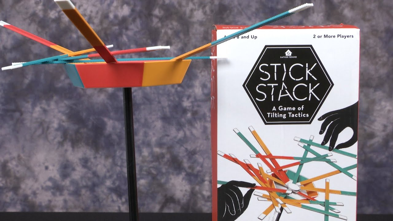 Stick Stack Game from Wonder Forge