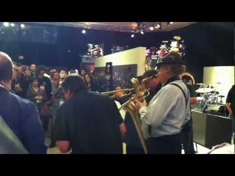Tower of Power Horns: Soul Vaccination-NAMM 2013