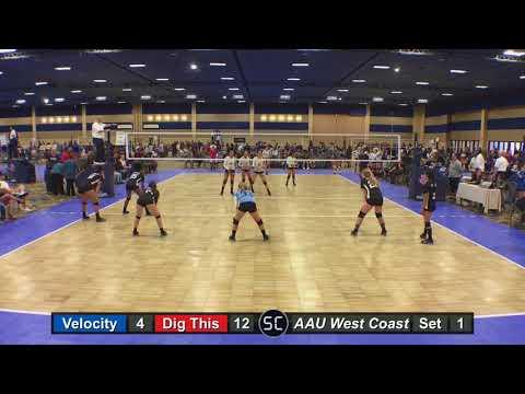 Vegas Velocity 14U Black vs Dig This 14-1 - Set 1